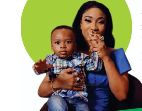 Tonto Dikeh's 5years Old Son Join The List Of Agropreneurs In Nigeria; See How